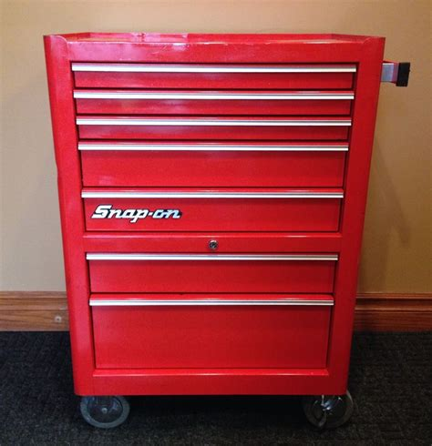 snap on kra 380e 26 5 quot 7 drawer rolling toolbox cabinet