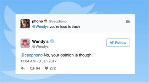 Search S Tweets Wendy S Roasts Users