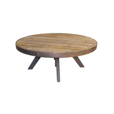 Table Basse Bois Ronde by Table Basse Ronde Bois Metal Design En Image