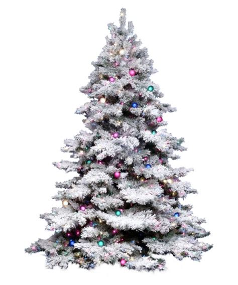 14 ft tree vickerman 14 ft flocked alaskan dura lit tree