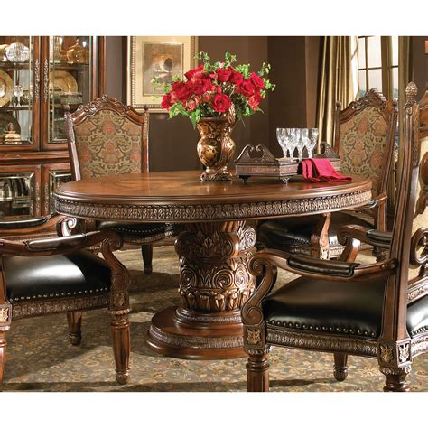 villa valencia rectangular dining table by michael amini michael amini villa valencia oval dining table by