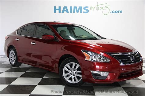 altima nissan 2014 2014 used nissan altima 4dr sedan i4 2 5 s at haims motors