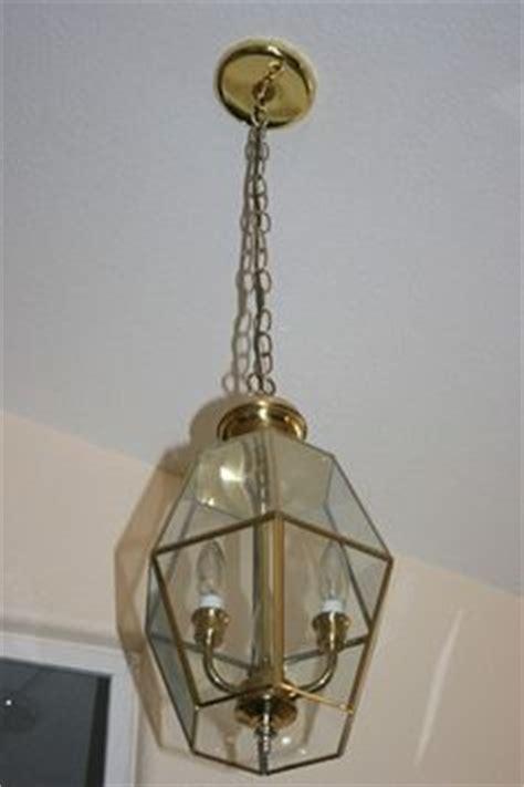 Updating Brass Light Fixtures 1000 Images About Brass Light Fixture Makeover On Pinterest Glass Chandelier Light Fixtures