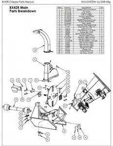 vermeer chipper parts diagram get wiring diagram free