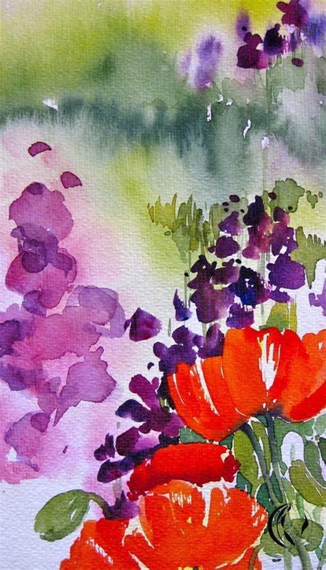 Blumen Die Im Mai Blühen 1787 by Mohn Immer Ein Erlebnis Aquarell Malen Am Meer 174