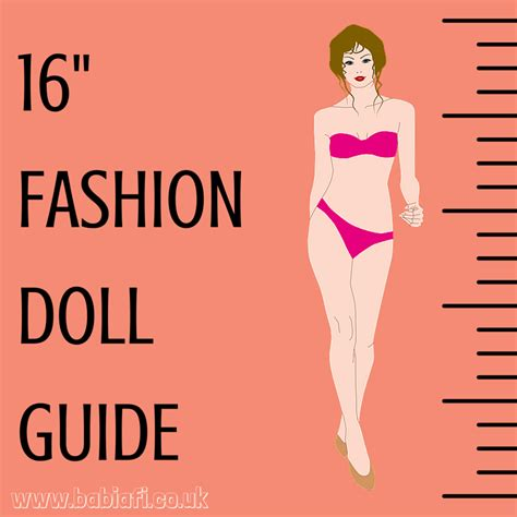 fashion doll guide babi a fi guide to 16 quot fashion dolls