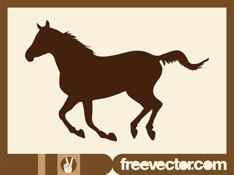vector horse tutorial running horse vector