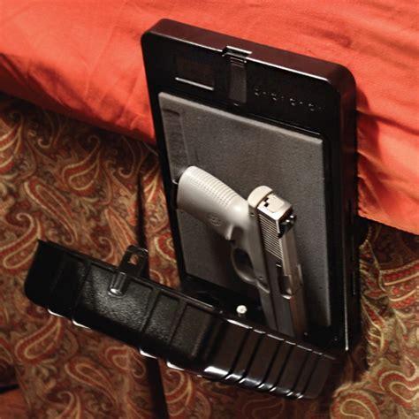 Biometric Gun Safe Nightstand by Arms Reach Biometric Gun Safe Secured Bedside Handgun
