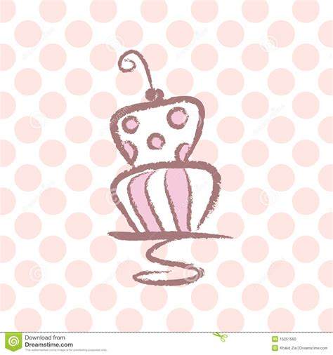 stylized wedding cake stock photo image 15251560