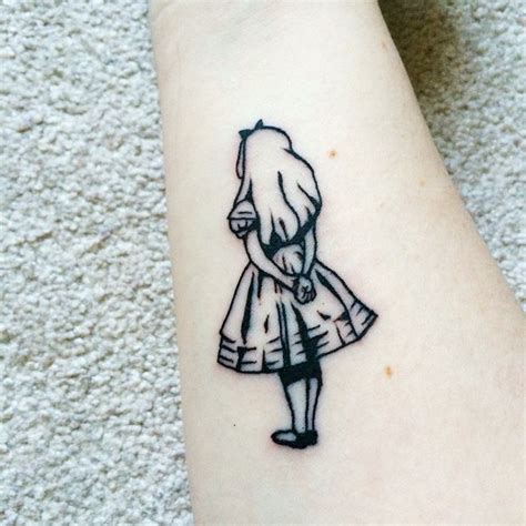 alice in wonderland small tattoos 25 best ideas about on