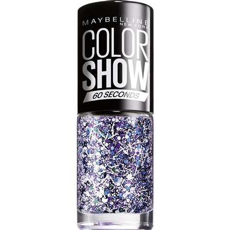Maybelline White maybelline color show nail white splatter top coat 02 7ml