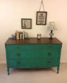 on hold rustic chic antique turquoise dresser painted