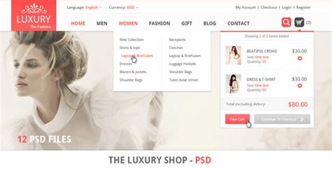 templates for retail website 20 premium and professional retail websites psd templates