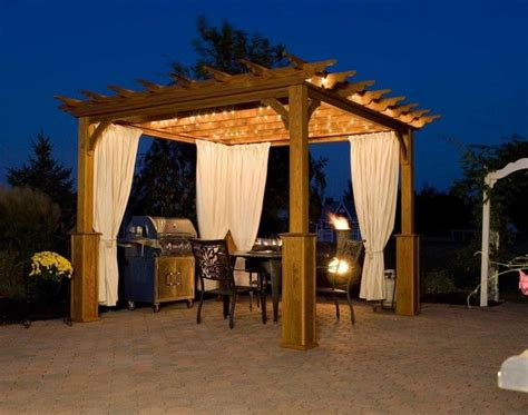 decorative lights for cer awnings 45 best images about backyard patio pavilion pergola