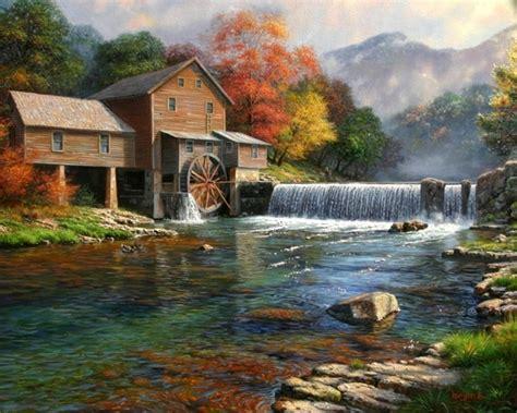 bob ross painting the mill keathley 171 american gallery