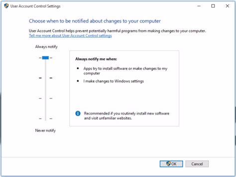 how to cancel windows 10 turn user account control on or off how to winbuzzer
