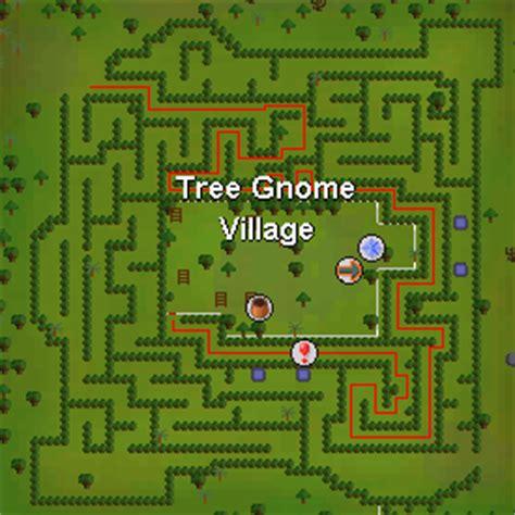 tree gnome village maze osrs tree gnome village runescape guide runehq