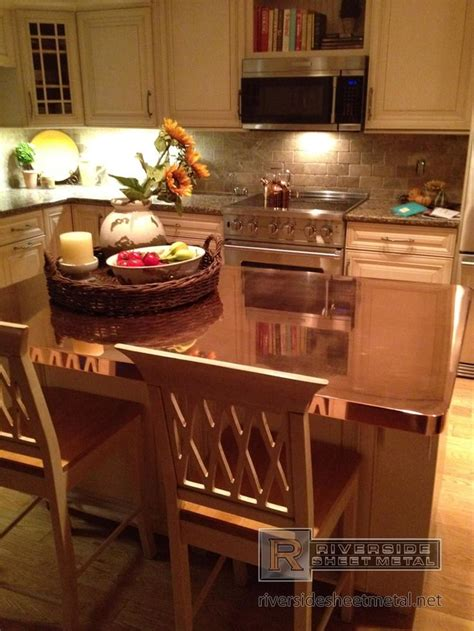 copper kitchen countertops 17 best ideas about copper countertops on