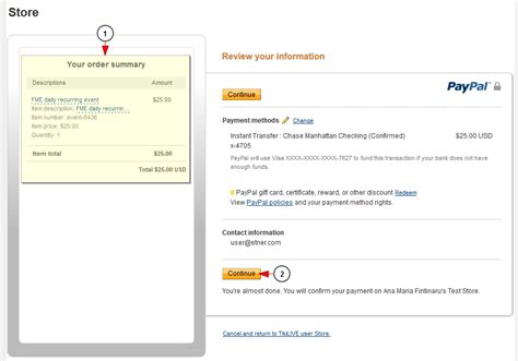 can i make a paypal payment with a credit card pay with paypal on checkout page