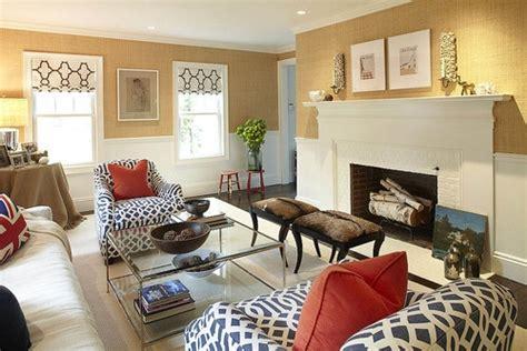 interior home design ideas 2017 grasscloth wallpaper living clasic cu zugraveala in doua culori alb cu galben