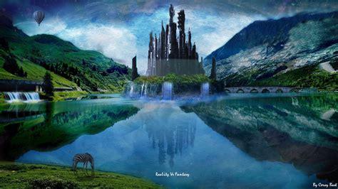 imagenes abstractas reales fantasy vs reality by titanbast on deviantart