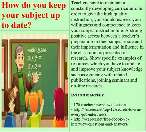 top 15 teacher interview questions and answers youtube