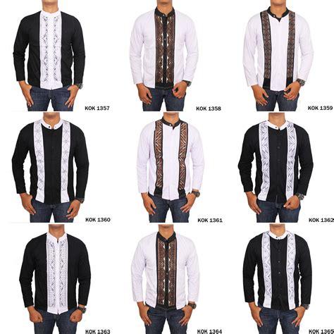 Gudang Fashion Busana Muslim Pria Baju Koko Pendek buy buy 1 get 1 free ongkir baju koko dan busana muslim