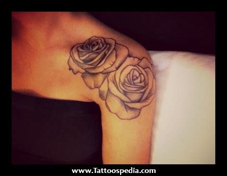 rose thigh tattoos tumblr shoulder tattoos