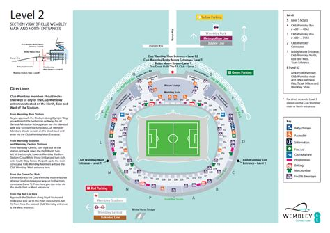 wembley stadium floor plan wembley floor plan meze