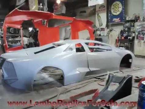 How To Build A Lamborghini Replica Lamborghini Reventon Replica Kit Car Project Mold Is
