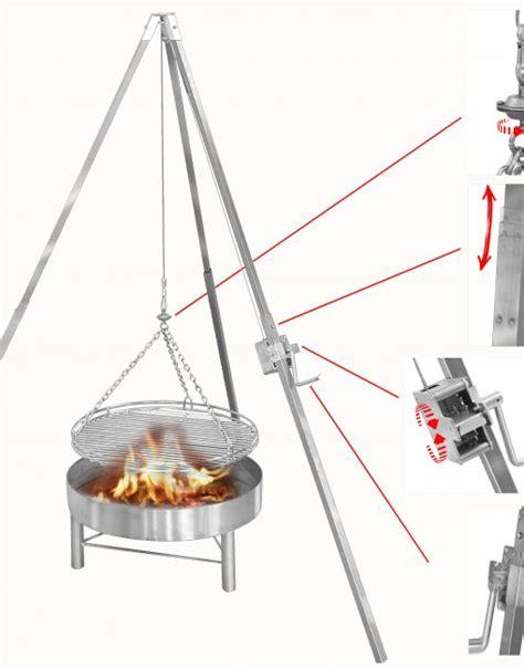 feuerschale grill selber bauen dreibein f 252 r feuerschale selber bauen eigenbau flammlachs