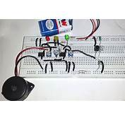 Reverse Car Parking Circuit Using IC LM358  Electronic