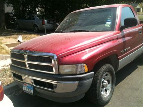 car owners manuals for sale 1996 dodge ram 1500 club engine control purchase used 1996 dodge ram 1500 pu truck v in dallas texas united states for us 1 800 00