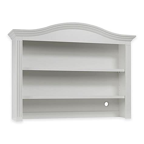 sorelle providence 7 drawer double dresser in white buy sorelle providence hutch and bookcase in white from