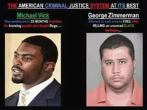 George Zimmerman Is An American Michael Vick Vs George Zimmerman Justice For Trayvon Martin George Zimmerman