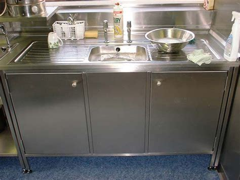 stainless steel sink cabinet stainless steel kitchen sink cabinet catering kitchens
