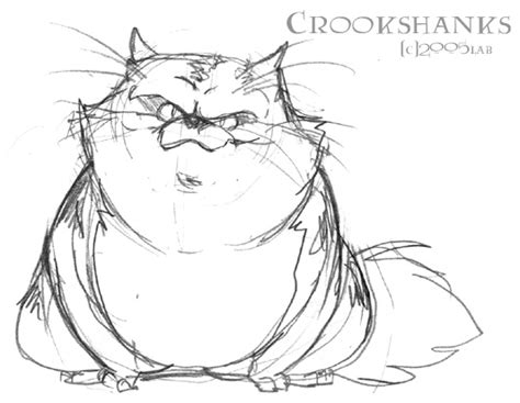 Crookshanks Hp By Lberghol On Deviantart