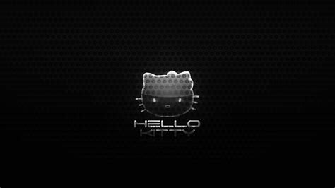 wallpaper hello kitty black and white hello kitty black wallpapers wallpaper cave
