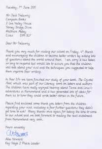trelawny school author hawley primary school