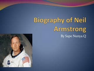 biography of neil armstrong in short ppt biography of neil armstrong powerpoint presentation