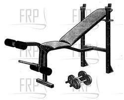 weider weight bench parts weider 132 webe13260 fitness and exercise equipment