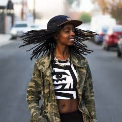 latest dread dreadlock hairstyles popsugar beauty