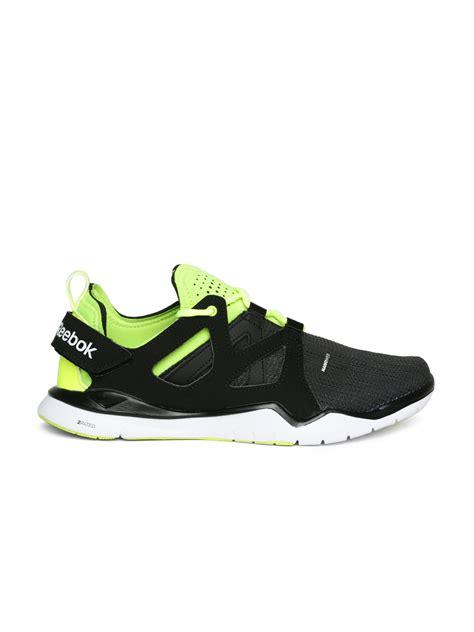reebok sports shoes shopping myntra reebok black zcut shoes 762266 buy