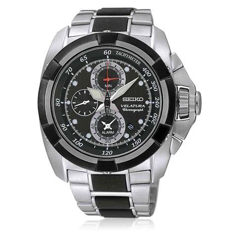 Seiko Velatura Silver Black seiko s silver black wrist buy branded
