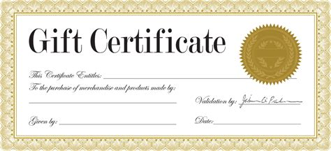 mary kay gift certificate template template search results