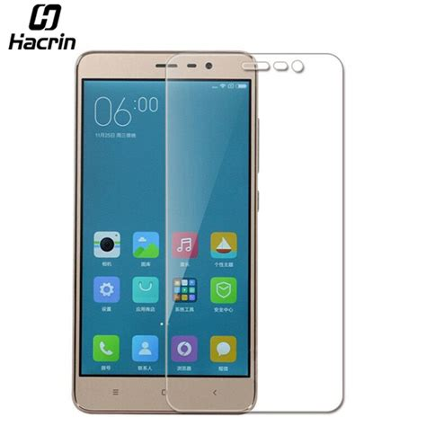 Tempered Glass For Xiaomi Redmi Pro Dua 5 5 Inch Anti Gores K 1 hacrin for xiaomi redmi note 3 pro tempered glass 9h