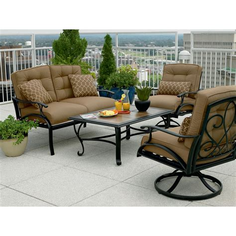 la z boy outdoor furniture sale review la z boy outdoor caitlyn 4 pc seating set best