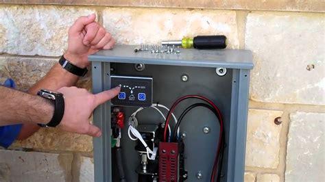 kohler 14kw gas backup generator system overview