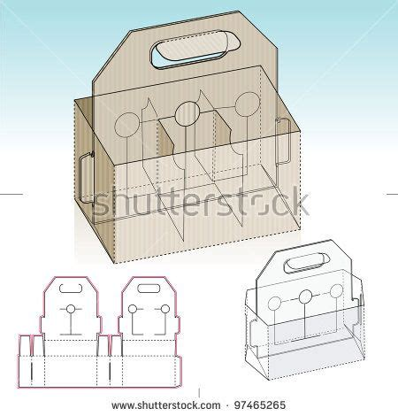 6 Pack Carrier Template by 29 Best Templates Images On Cartonnage Paper