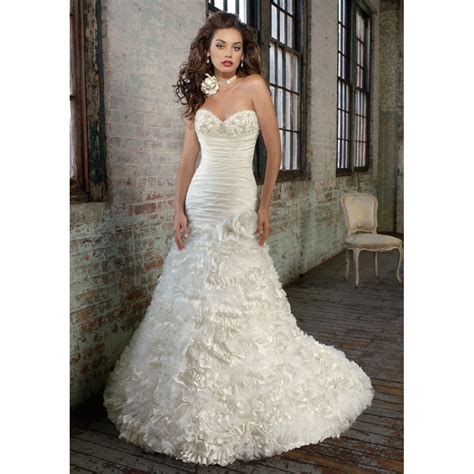 look gorgeous with long wedding dresses ohh my my